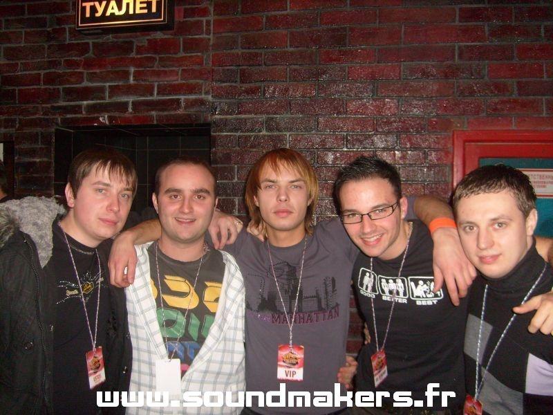 CyC & Jeremy (Sound Makers) @ XO Club (Russia)