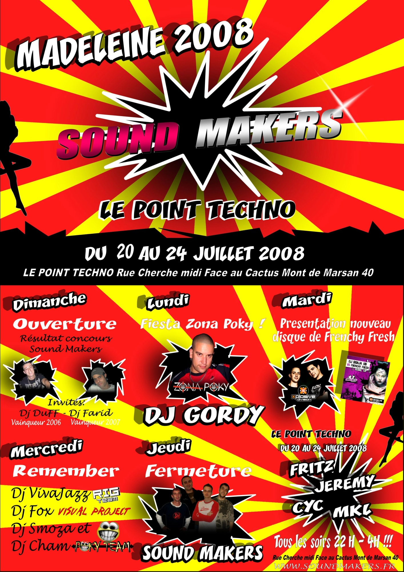 Sound Makers @ Le Point Techno (Madeleine/40)