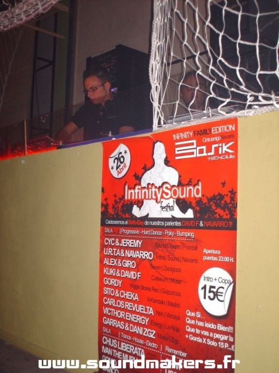 CyC & Jeremy (Sound Makers) @ Basik (Spain)