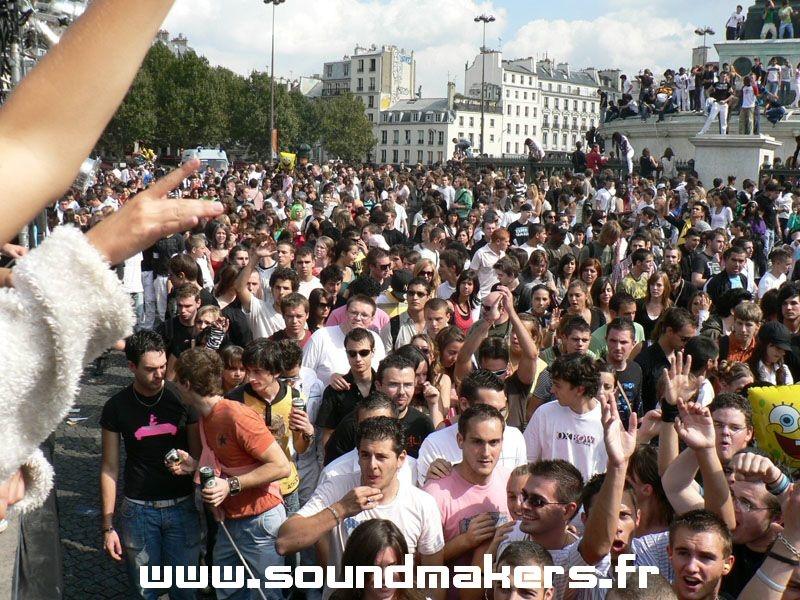 CyC & Fritz (Sound Makers) @ Techno Parade (Paris/France)