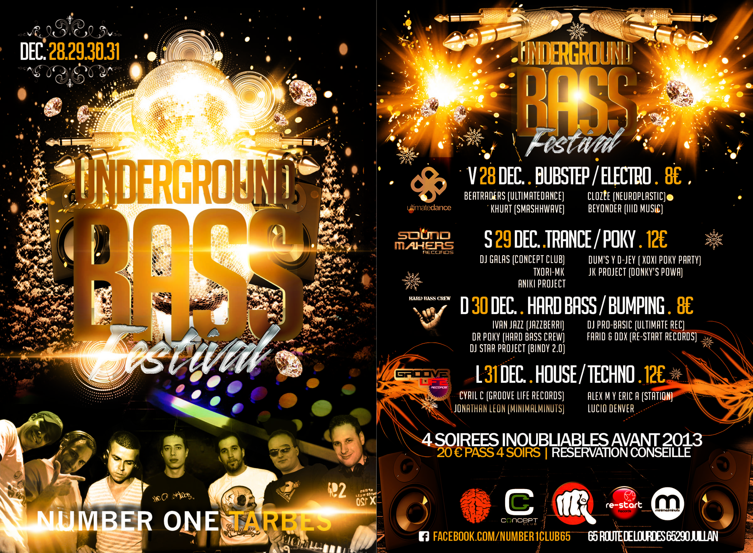 Sound Makers @ Underground Bass Festival (Number One/65)