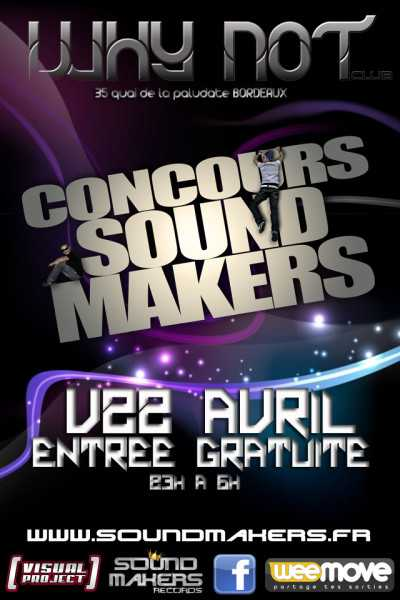 2011.04.22 Flyer concours sound makers 2011