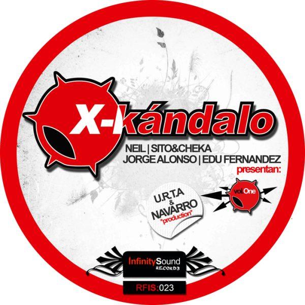 NEIL/SITO&CHEKA/JORGE ALONSO/EDU FERNANDEZ presents U.R.T.A/NAVARRO - X-Kandalo