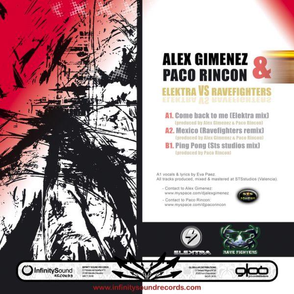 ALEX GIMENEZ/PACO RINCON - Elektra vs Ravefighters