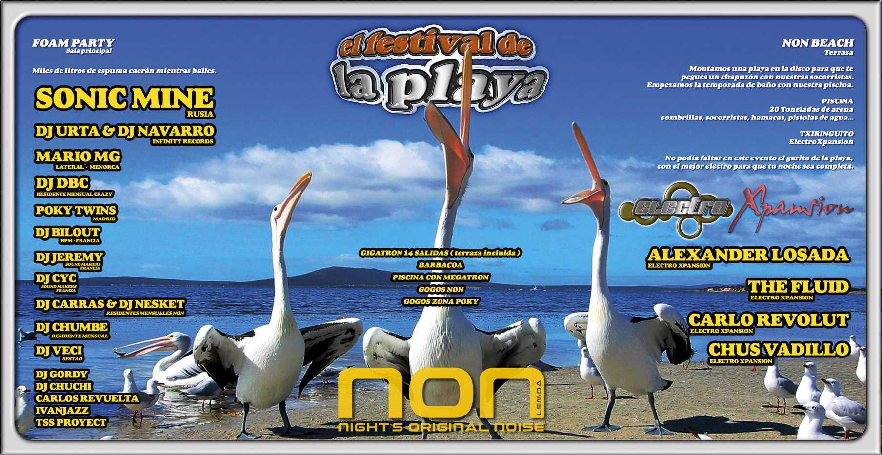 CyC & Jeremy (Sound Makers) @ El Festival de la playa (NON/Spain)