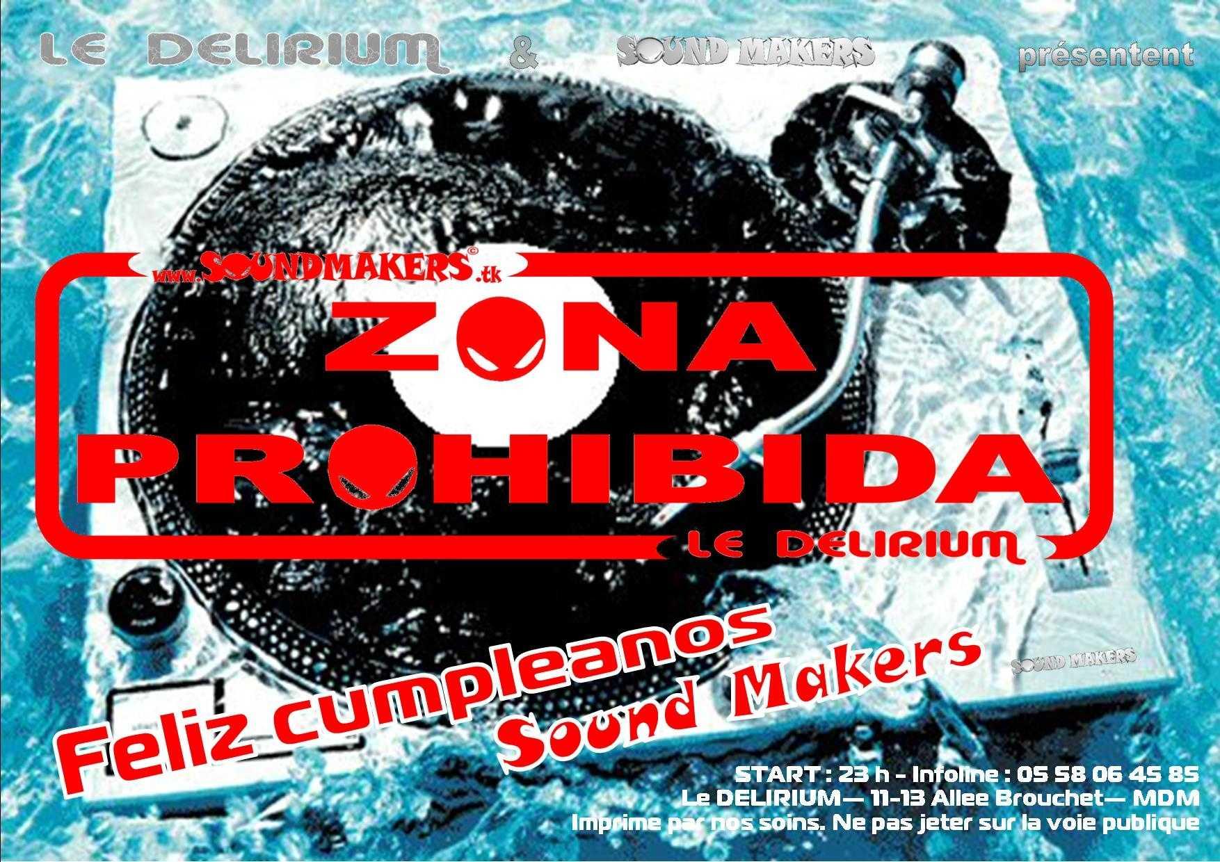 Dj MKL birthday @ Zona Prohibida