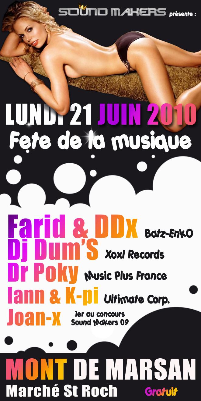 Sound Makers @ Fête de la Musique (Marché Couvert/40)