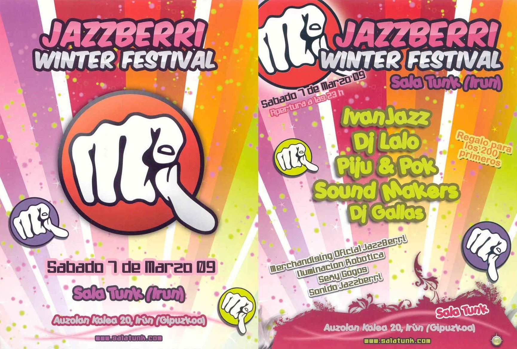 Sound Makers @ Jazzberri winter festival (Tunk)